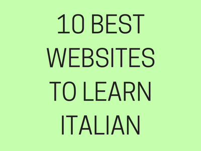 10 Best Website to Learn Italian